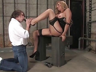 Dirty shemale loves the role play with her twink