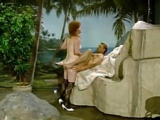 Vintage tranny sex in brutal anal scenes