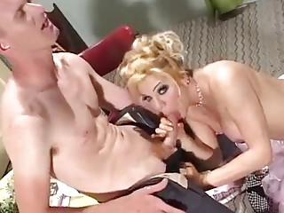 Rough anal for a busy dyke with big dick