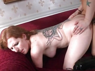 Stirring anal action from horny shemale friend with small cock