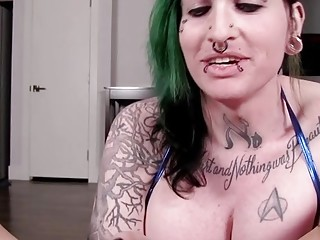 Hot shemale pov with swallow